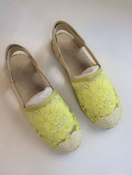 Valentino Sandals Lace VT541 Yellow