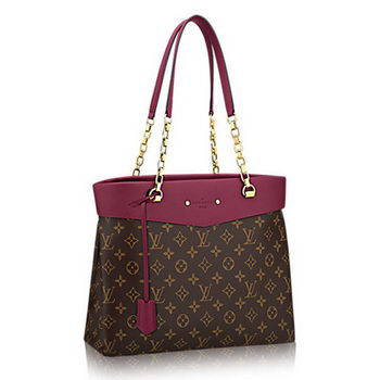 Louis Vuitton Monogram Canvas Pallas Shopper M51196 Aurore