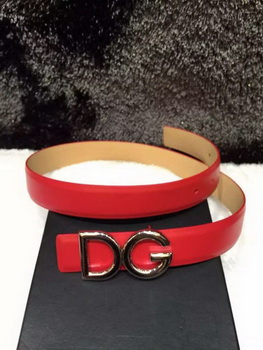 Dolce & Gabbana Belt DG4303 Red