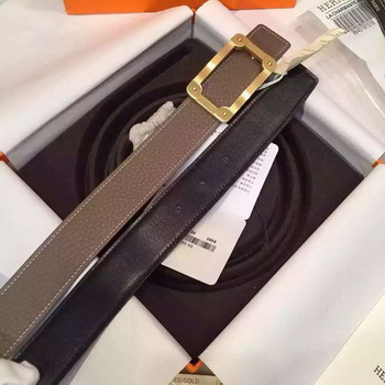 HERMES Belts HB2688 Grey