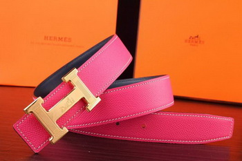 HERMES Belts HB268G Rose