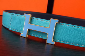 Hermes Belt H3031S SkyBlue
