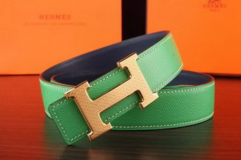 Hermes Belt H3055G Green