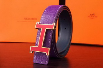 Hermes Belt H3064G Purple