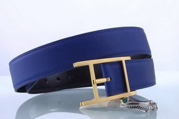 Hermes Belt H3371 Blue
