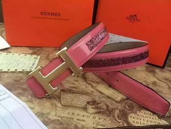 Hermes Belt H3384G Rose