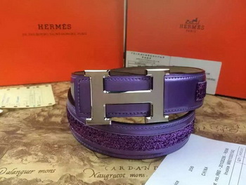 Hermes Belt H3396S Purple