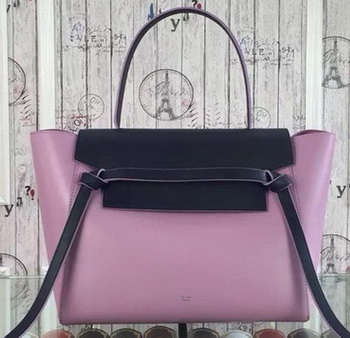 Celine Belt Bag Original Leather CLA98312 Lavender&Black