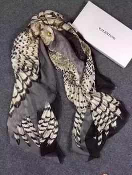 Valentino Scarf Silk VT09 Light Gold