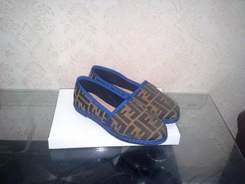 Fendi Casual Shoes FD74 Blue
