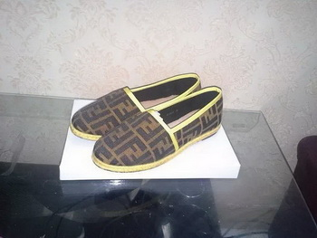 Fendi Casual Shoes FD74 Yellow