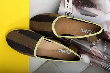 Fendi Casual Shoes FD78 Yellow