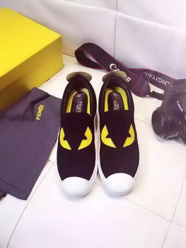 Fendi Casual Shoes FD83 Black