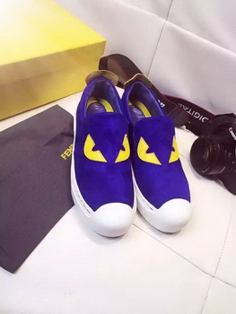 Fendi Casual Shoes FD83 Blue