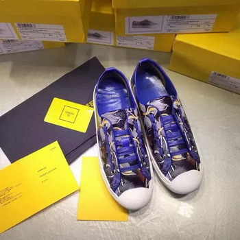 Fendi Casual Shoes FD85 Blue