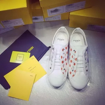 Fendi Casual Shoes FD87 White