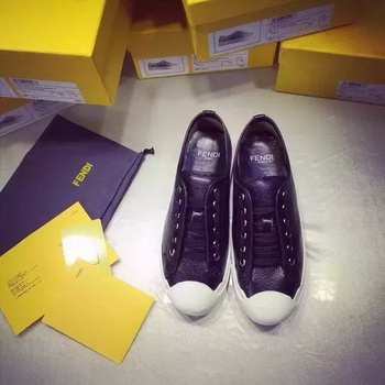 Fendi Casual Shoes FD89 Black