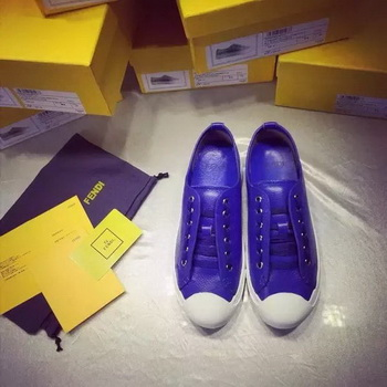 Fendi Casual Shoes FD90 Blue