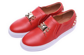 Giuseppe Zanotti Casual Shoes Leather GZ0390 Red