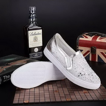 Givenchy Casual Shoes Leather GI44 Silver