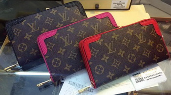 Louis Vuitton Monogram Canvas ZIPPY WALLET RETIRO M61188