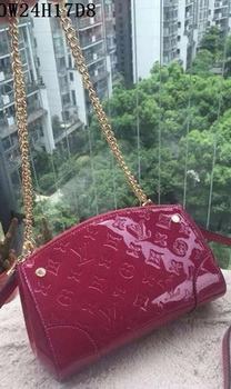 Louis Vuitton Monogram Vernis SANTA MONICA CLUTCH M50410 Burgundy