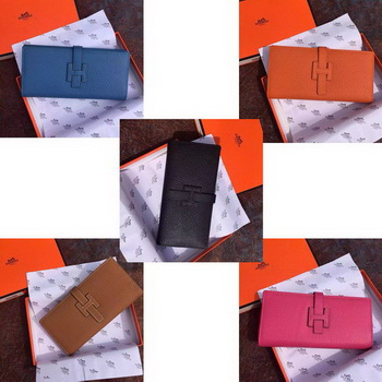 Hermes Grainy Leather Bifold Wallet H8000