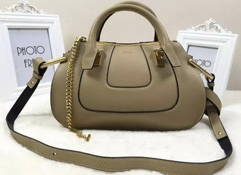 CHLOE HAYLEY Original Leather Tote Bag CL2092 Apricot