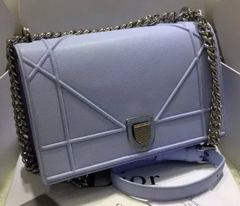 Dior Diorama Bag Original Leather CD12L SkyBlue