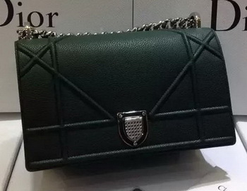 Dior Diorama Bag Original Leather CD13S Green