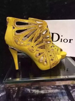 Dior Sandal CD0328 Yellow