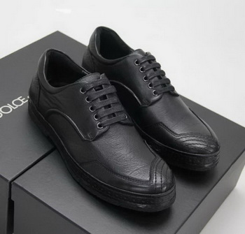 Dolce & Gabbana Casual Shoes D&G77 Black