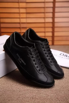 Dolce & Gabbana Casual Shoes D&G81 Black