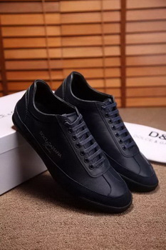 Dolce & Gabbana Casual Shoes D&G81 Royal