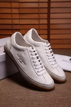 Dolce & Gabbana Casual Shoes D&G81 White