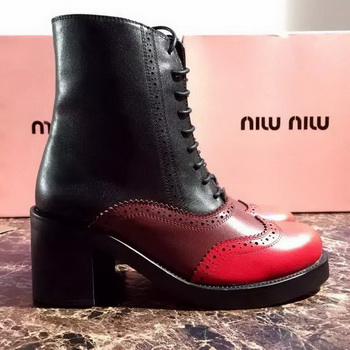 miu miu Ankle Boot MM394 Red