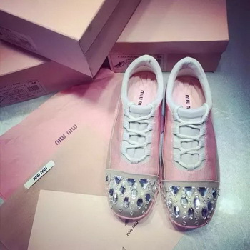 miu miu Casual Shoes MM386 Pink