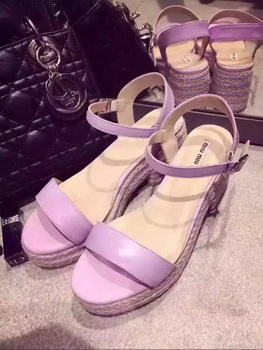 miu miu Sandal MM371 Light Purple