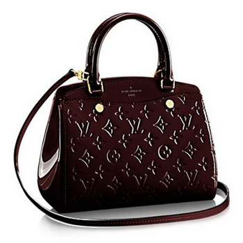 Louis Vuitton Monogram Vernis Brea PM M50601 Amarante