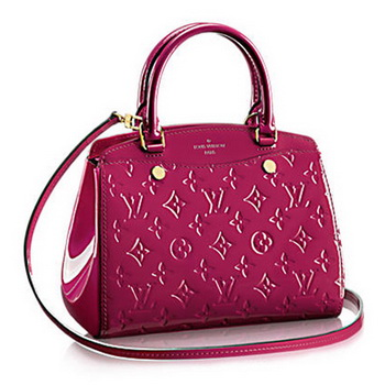 Louis Vuitton Monogram Vernis Brea PM M50810 Magenta