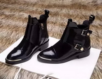 Louis Vuitton Ankle Boot Patent Leather LV556 Black