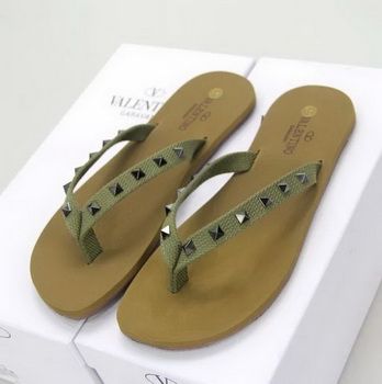 Valentino Slippers VT614 Green