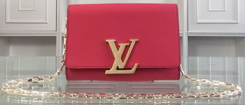 Louis Vuitton Chain Louise MM M94265 Red