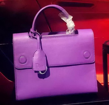 Dior Diorever Bag Original Leather D39908 Purple