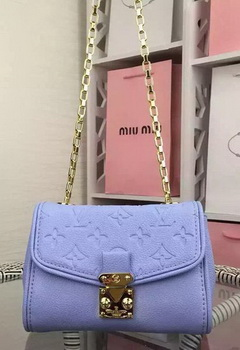 Louis Vuitton Monogram Empreinte SAINT-GERMAIN BB Bag M94555 Lavender