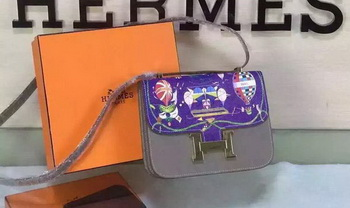 Hermes Constance Bag Original Leather H027 Grey