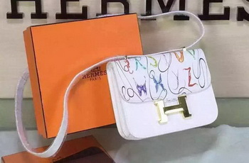 Hermes Constance Bag Original Leather H027 White