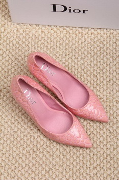 Dior 70mm Pump Snake Leather CD0454 Pink