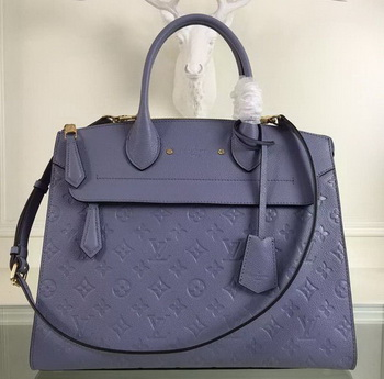 Louis Vuitton Monogram Empreinte PONT-NEUF GM Bag M41753 Lavender