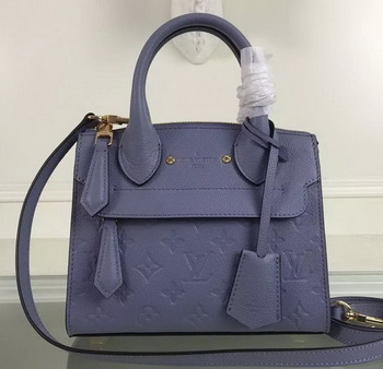Louis Vuitton Monogram Empreinte PONT-NEUF MINI Bag M41743 Lavender